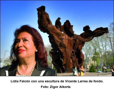 Lidia Falcón - Foto de Zigor Alkorta